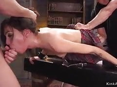 BDSM tied up anal
