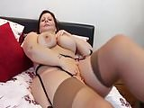 Beautiful mature woman exposing her wonderful body