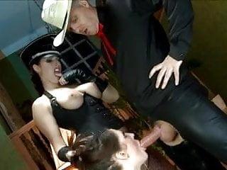 British sluts Paige and Sam threesome