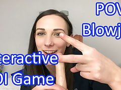 POV Blowjob from Clara Dee - JOI Games