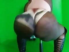 Big Booty Pole Dancer