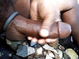 Butt Naked River Wank 4204lyfe