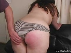 Good Spanking For BBW Bad Girl Doing Differently