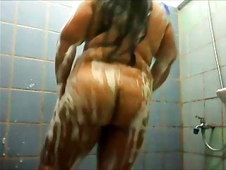 Berta Does Her Thing in the Shower