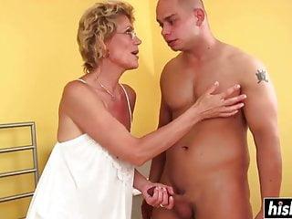 secret hot Granny hungarian anal