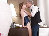 Impromptu anal with a sexy secretary