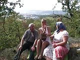 Grandpa is allowed to fuck young blonde girl from his wife