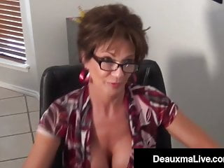 Orgasms Deauxma Cosplay Evil Mature With Cougar Focker! Dr
