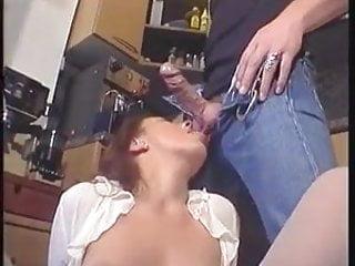 Moist milf hot sex and cum in face...
