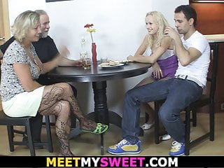 into seduces Older his family mom new gf sex