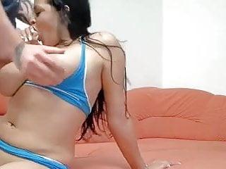 Big tits double pierced nipples anal pierced clit...