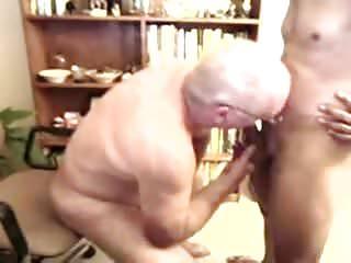 Sucking a younger men...