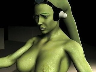 Oola (Twilek) dance Jabba for