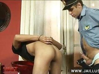 Poor pierced cop...