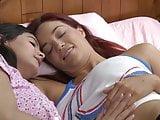 Jayden Cole and Violet Starr have lesbian sex