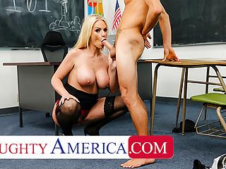 Naughty Cavalli America - student Rachael fucks