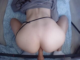 GIRLFRIEND TRIES ANAL WITH YOU
