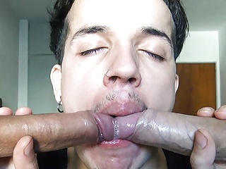 Straight amateur latino returns for more money cock...