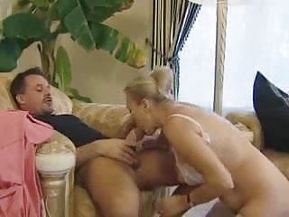 Beautiful german cleaner granny gets anal by young...