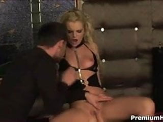 Wild slut enjoys pussy banging