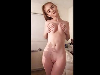 Hardcore Teen Small Tits video: Hot Australian Teen Stripping Down Her Clothes