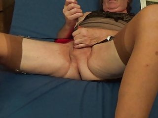 sounding urethral dildo sissy nylon shemale bas transvsetite