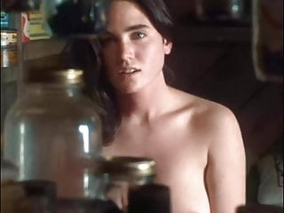 Brunette Celebrity Celeb video: Celeb Jennifer Connelly Nude Scenes Rematered