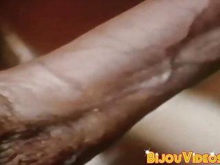 Vintage homosexual guy takes turn sucking dicks...