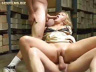 group three dicks for a sexy blondeporno videos