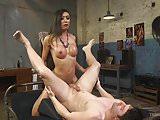 Venus Lux Takes Down The Landlord