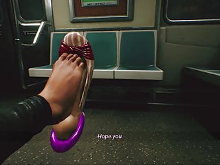 Public Animation) Footjob Subway Engine In (Unreal