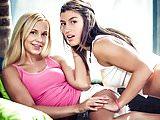Julia Roca wakes up her girlfriend