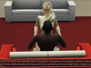 Cuckold love story animated part 2...