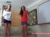 Naughty Jen, Jealous Nikki, Slutty New Wife Tatiana Blowjobs