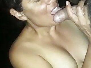 Venezolana enfermera chupando rico