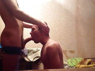 Russian guy deepthroats 039 big cock...