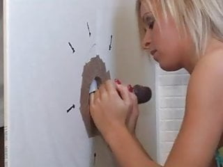 British at a glory hole...