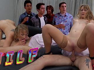 Finch fucks stifler mom ass cowgirl squirt pussy...