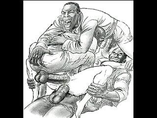 Stepdaughter sarah fucking 3 black men