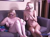 Autumn Westin and Daisy - Two girls have fun with old cock