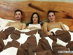 good looking boys share hot brunettefree full porn