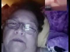 Anciana de fuego... Vigila si no llega su esposo