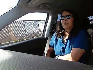 Public Nudity Voyeur porno: Highway flashing