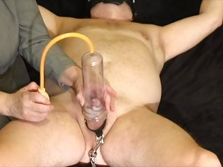 FLR Mistress Humiliates Her Femdom Slave With Pump and Destroy