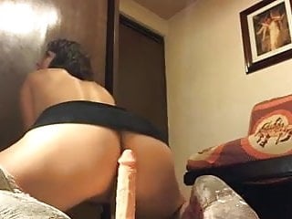 Busy With Her Dildo