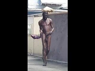 LOL Walking down the street with ya flip flops on!