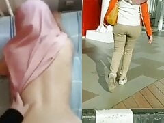 Indonesian Cheating Hijab Wife