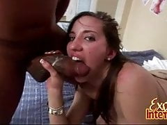 Blacked Babe Kelly Divine Get Cum ATM