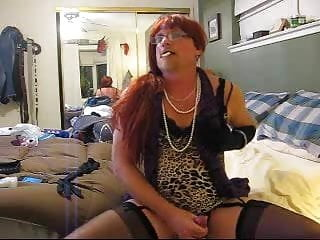 Sexy Smoking Crossdressing Slut