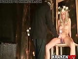 BDSM video with caned girl of fantasy